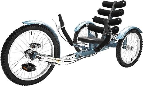 MoBo Cruiser Cambio Bicicleta reclinada Triciclo – Azul: Amazon.es ...