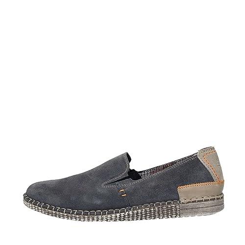 ZEN AGE 476854 U Mocasines Hombre Azul 39: Amazon.es: Zapatos y complementos