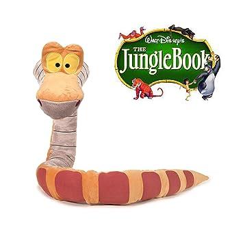Famosa Softies Peluche Serpent Kaa 30 Cm Livre De La