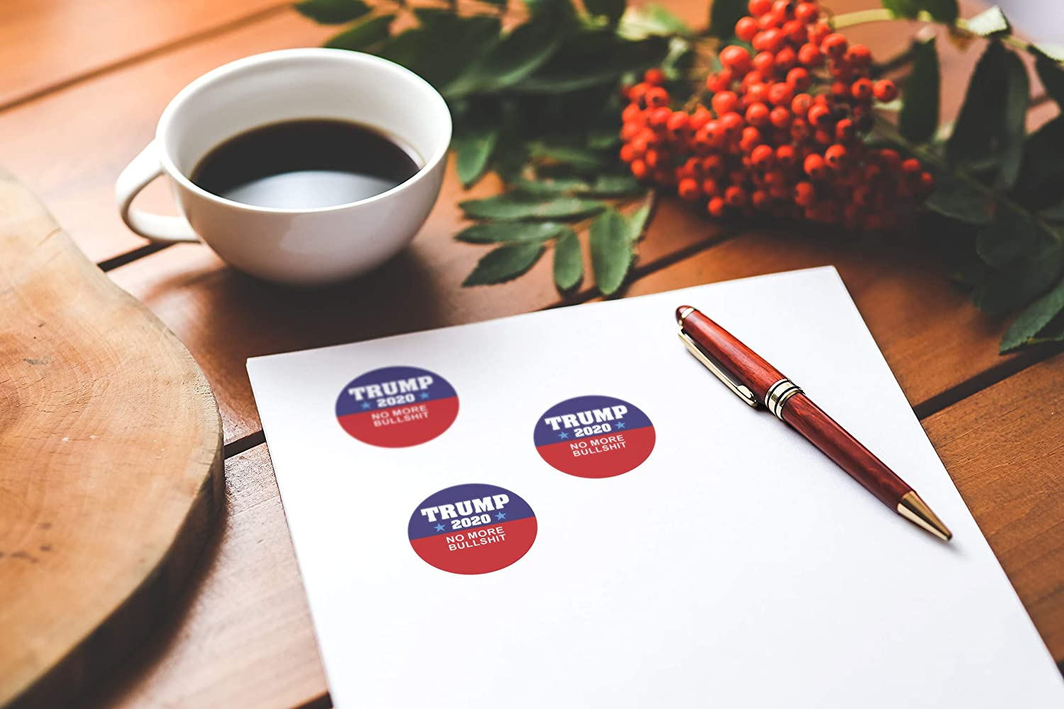 Trump 2020 Set of 16 Sticker Keep America Great Trump for President 2020 Decal United States Presidential Election
