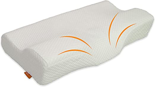 Amazon.com: Memory Foam Cervical Pillow for Neck Pain   Best Back