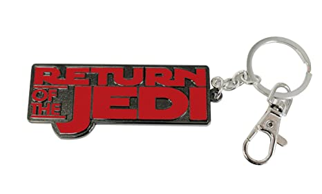Amazon.com: LOGO RETURN OF THE JEDI LLAVERO MOSQUETON STAR ...