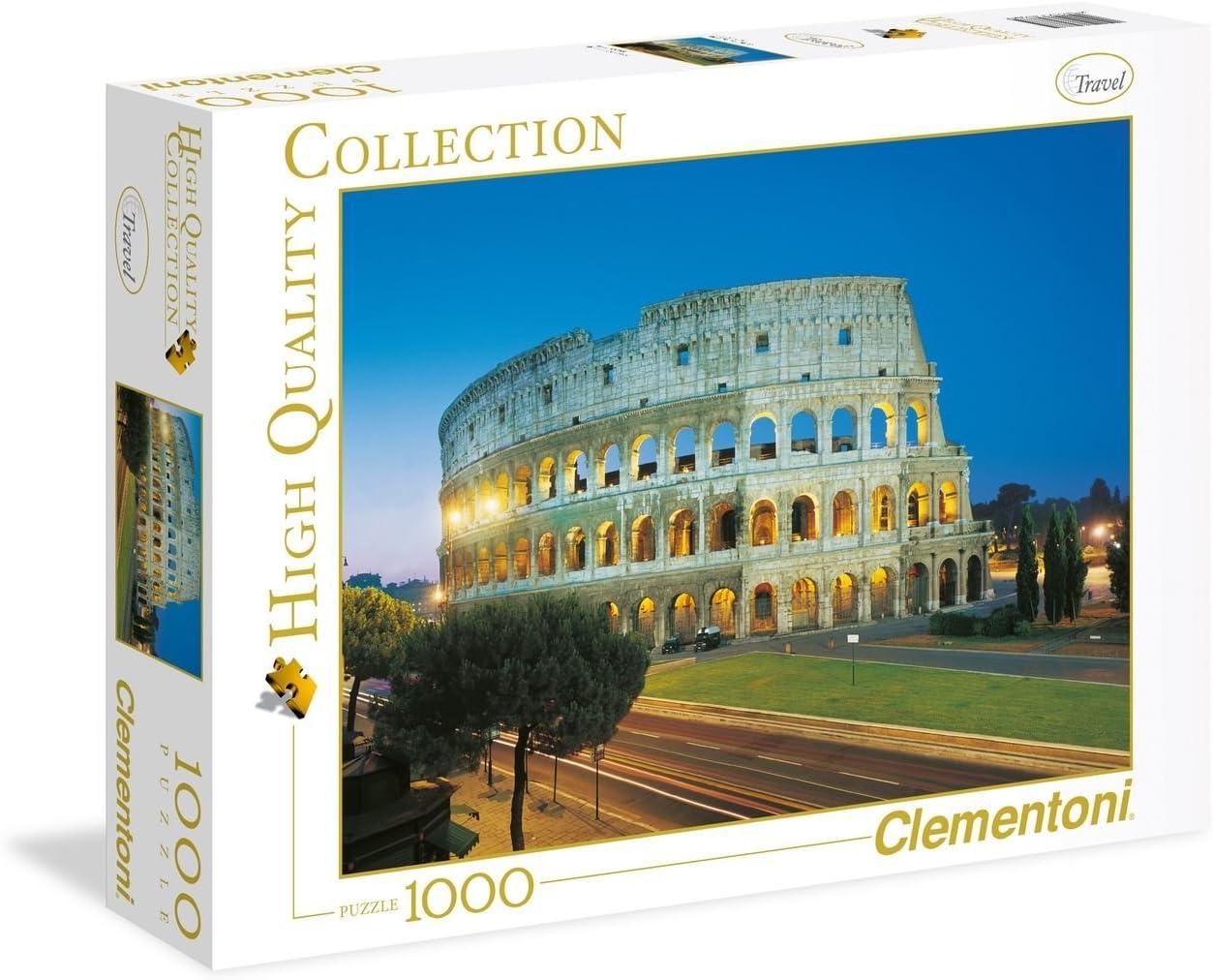 99 a/ño , Multicolor Clementoni 39457 Rompecabezas s s Rompecabezas para Suelo, Edificios, Ni/ños y Adultos, 14 a/ño