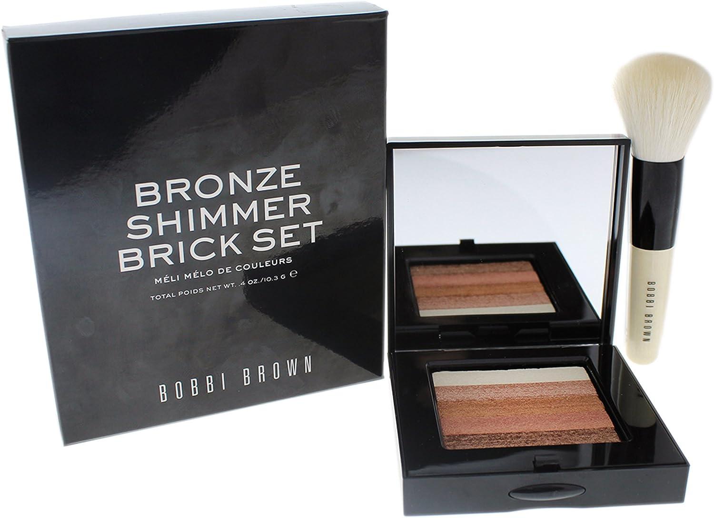 Bobbi Brown Bronze Shimmer Brick Compact Set