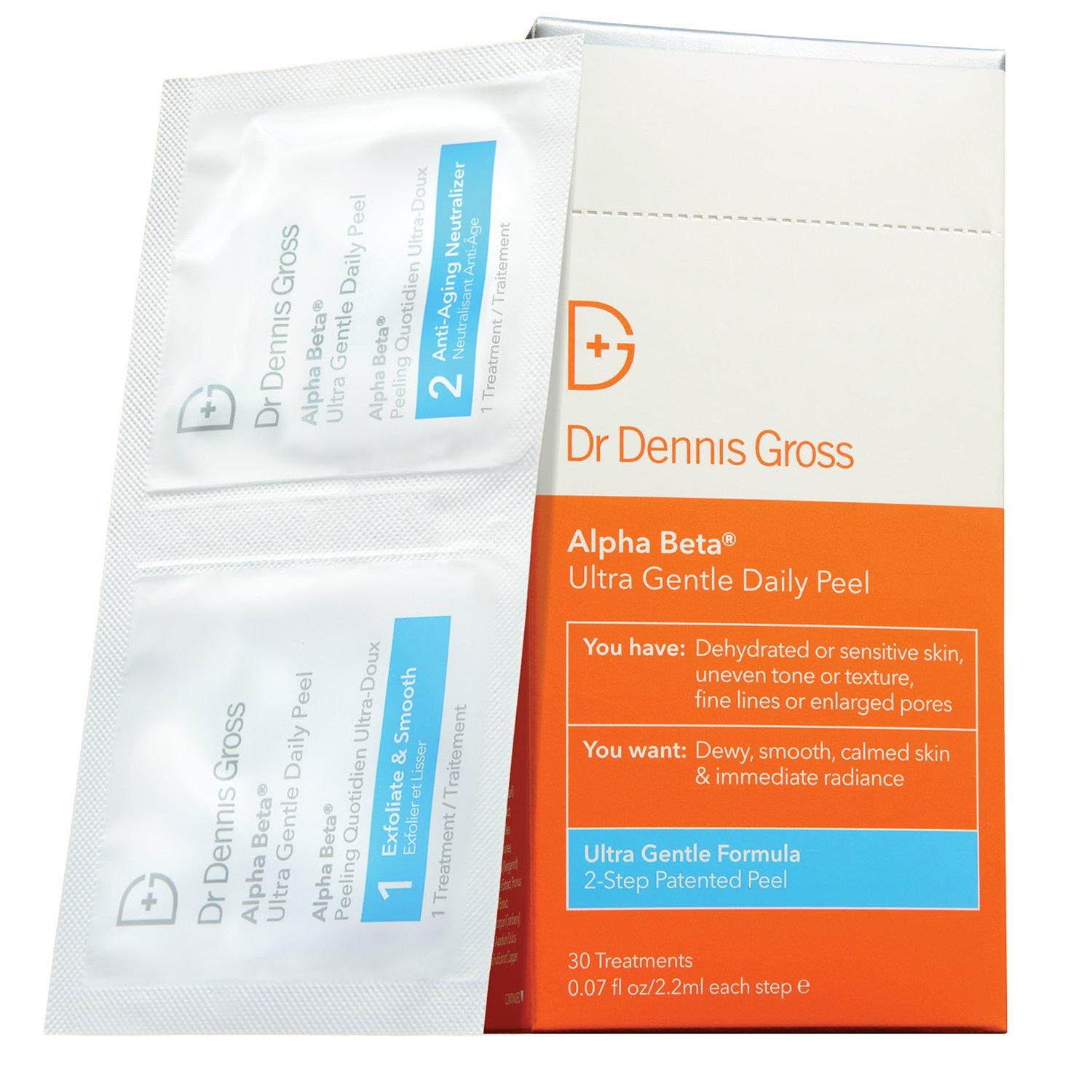 Dr. Dennis Gross Alpha Beta Ultra Gentle Daily Peel, 30 Count by Dr. Dennis Gross Skincare