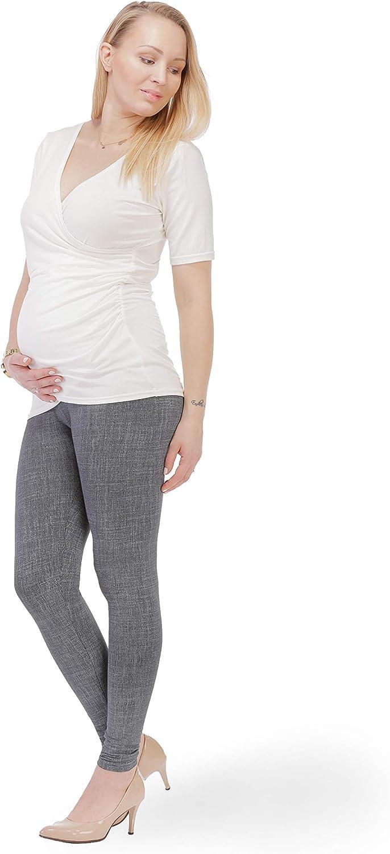 BeLady Leggings para Embarazadas Ropa Premam/á Maternidad Opaco Polainas de Algod/ón Longitud del Tobillo Muchos Patrones S M L XL 2XL 3XL 4XL 5XL 6XL
