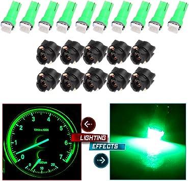 GREEN 5050 SMD LED 4 STRIPS 3 LEDS EACH  FITS  MITSUBISHI MAZDA TOTAL 12 LEDS