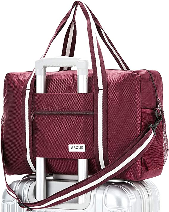 Travel Luggage Duffle Bag Lightweight Portable Handbag Run Wine Large Capacity Waterproof Foldable Storage Tote