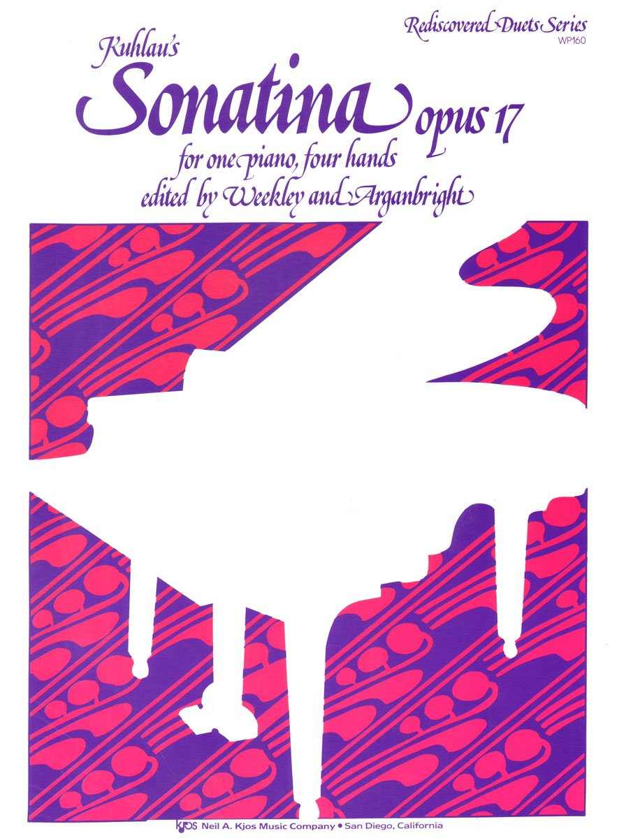 Read Online Kuhlau's Sonatina Opus 17 for One Piano, Four Hands pdf epub