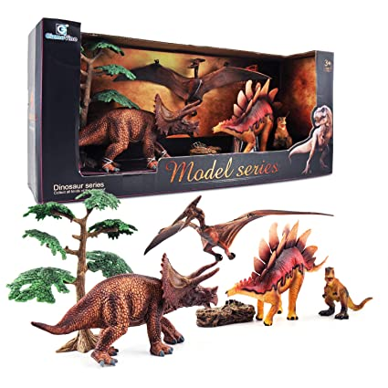 GizmoVine Juguetes de Dinosaurios, Educativo Realista Dinosaurio Jugar Juguetes Animales Acción Figuras Regalos de Cumpleanos para Niños Construcción ...