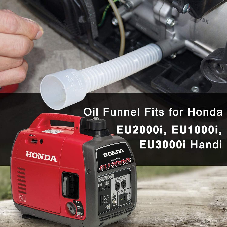 Huile Changer Entonnoir Ravitaillement Tuyau pour Honda Générateur EU1000i