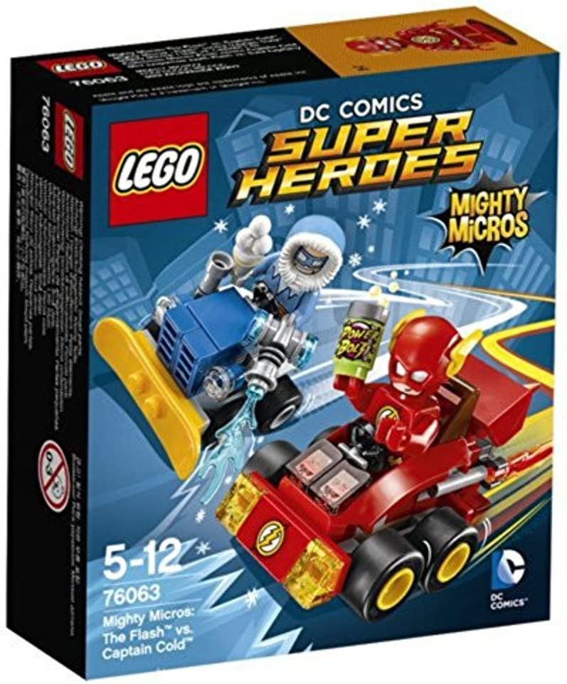 LEGO SUPER HEROES: Mighty Micros The Flash vs Captain Cold 76063