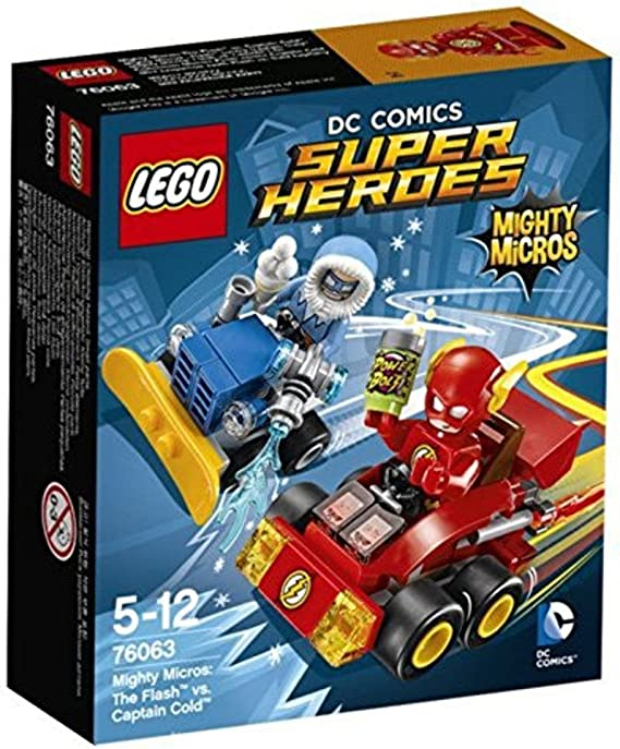 LEGO DC Comics Super Heroes 76063 Mighty Micros The Flash vs Captain Cold NEW