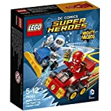 LEGO 76063 - Figurine Super Heroes Mighty Micros Flash Vs Capitan Cold