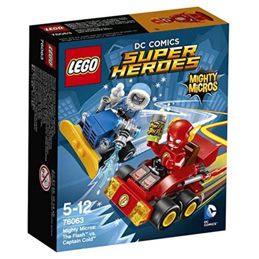 レゴ (LEGO) スーパーヒーローズ マイティマイクロ:フラッシュ vs キャプテンコールド 76063   B012NOITOO