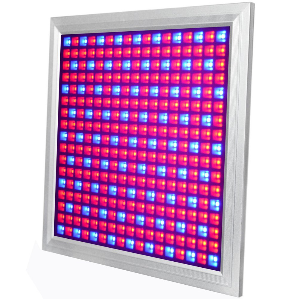 LED Grow Light for Indoor Plants Growing Lamp 289 LEDs 150W Red Blue Spectrum Full Aluminum Dimmable Plant Lights Bulb Panel for Hydroponics Greenhouse Germination Seedling Veg and Flower by Venoya