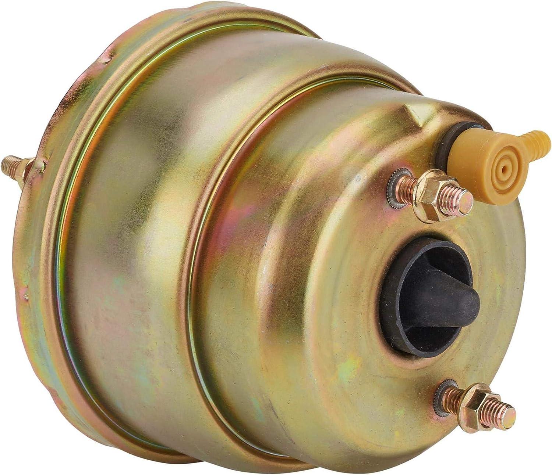 Single Diaphragm Power Brake Booster 7 Inch Chromate Finish