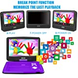 """SUNPIN Portable DVD Player 12.5"""" with HD Swivel"""
