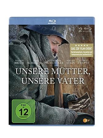 Unsere Mütter Unsere Väter Blu Ray 2 Bds Amazonde Volker Bruch