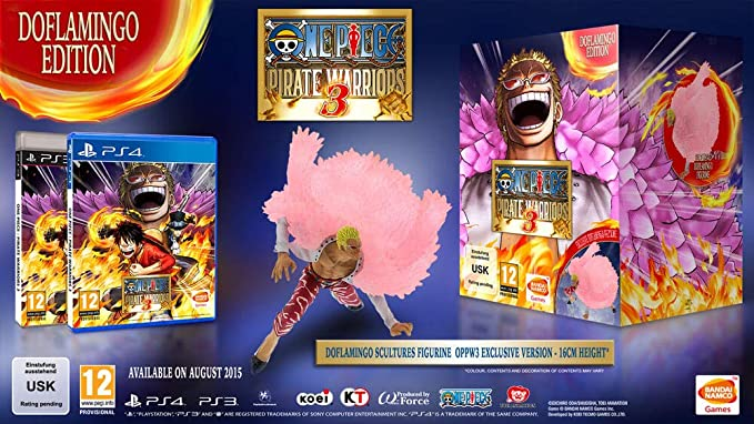 One Piece: Pirate Warriors 3 - Edición Doflamingo: Amazon.es ...