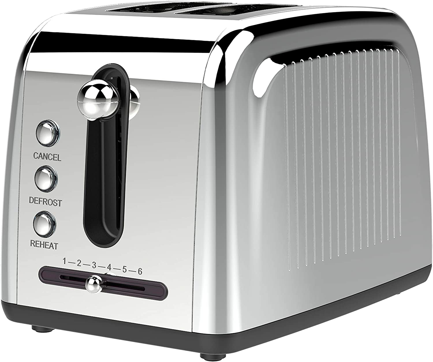 Extra Wide Slot 2-Slice Toaster