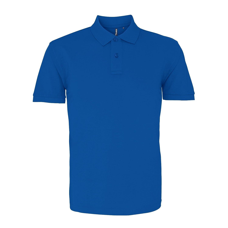 318a7632 Asquith & Fox Mens Plain Short Sleeve Polo Shirt at Amazon Men's Clothing  store: