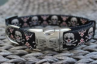 product image for Diva Dogs UBS21 Billy Bones Dog Collar - Medium & Large Sized