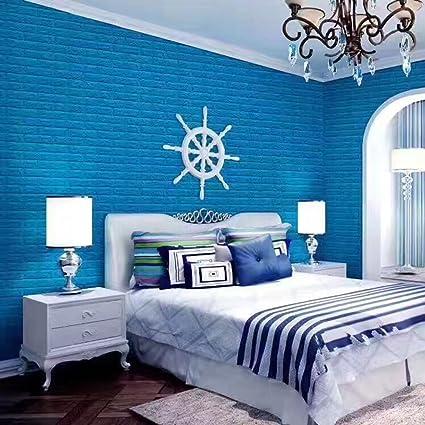 Amazon.com : wallpaper Home improvement DIY wall stickers 3d three ...