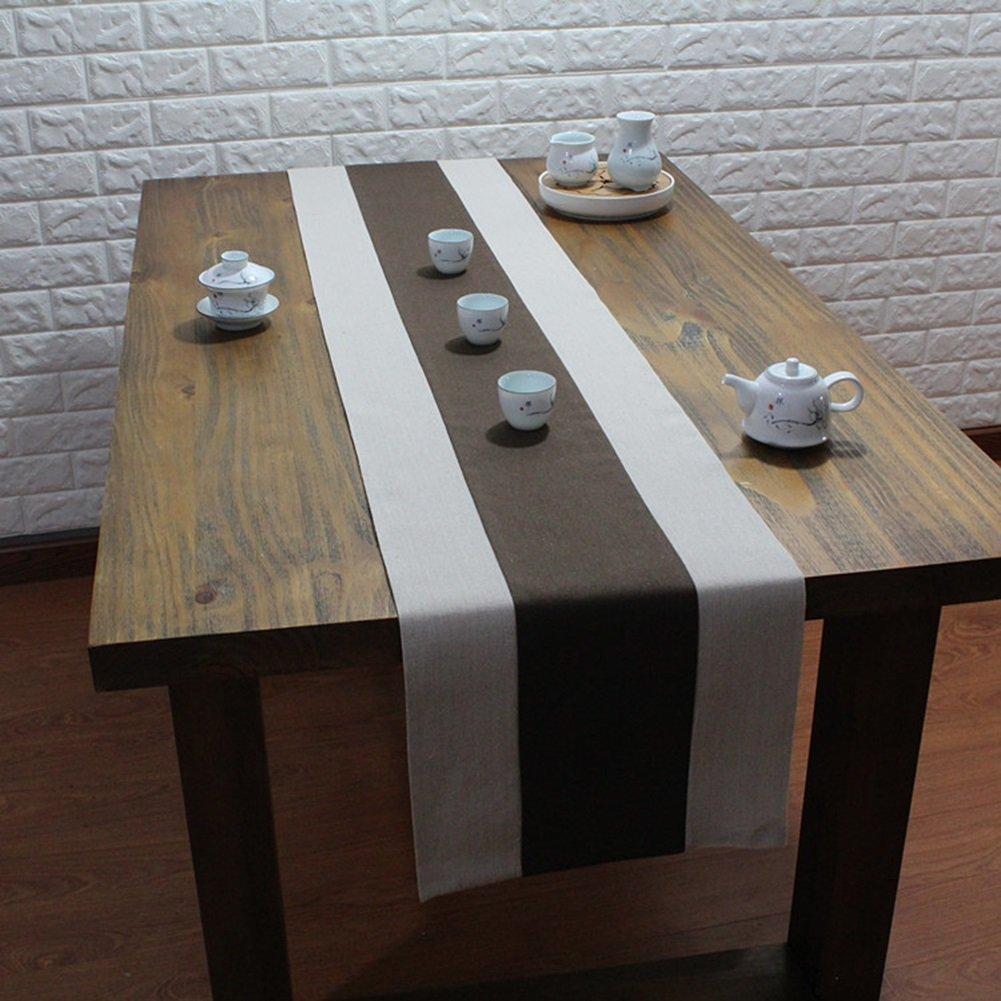 JIANFEI Runner Elegante Rettangolare Panno Di Copertura, Cotone, 7 Colori, 8 Taglie Disponibili ( Colore : A , dimensioni : 30*130cm )