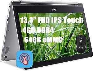 Acer R13 Mediatek 2-in-1 Thin and Light Premium Chromebook Laptop 13.3