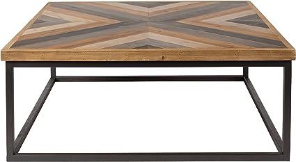 Legno Felis Lifestyle 2300117 Tavolino da Salotto Joy 81 x 81 x 32 cm Marrone