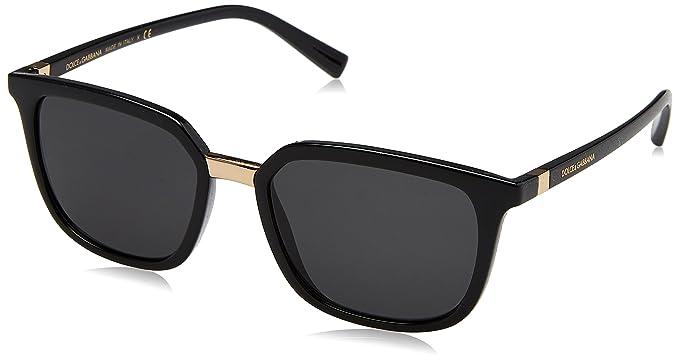 Dolce & Gabbana 0Dg6114 Gafas de sol, Black, 53 para Hombre ...