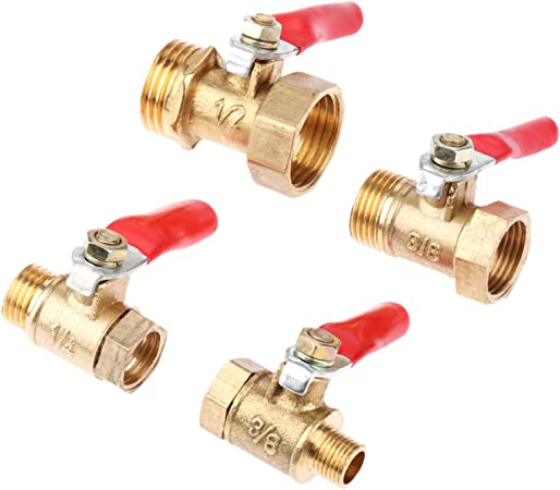 Professional Control Device Brass Ball Valve Pipe Fitting Thread Connector
