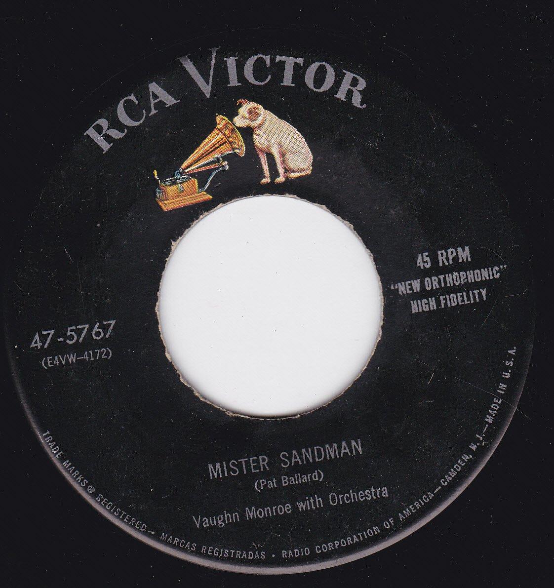Mister Sandman/They Were Doin Mambo (7''/45 rpm)