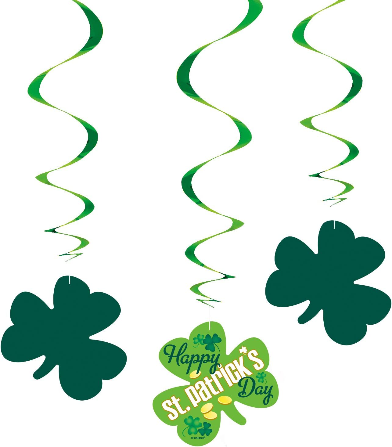 A Tuoyi St Patricks Day Decorations,Lucky Irish Shamrock Banner St.Patricks Day Decor Irish Party Supplies
