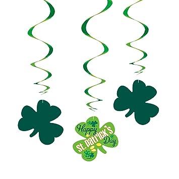 Unique Party 65575 Hanging Argyle St Patrick S Day Decorations