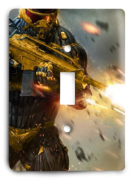 e20359292c2 Amazon.com: Crysis 2 Golden Light Switch Cover: Arts, Crafts & Sewing