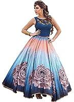 Attire Design Women's Party Wear New Year Collection Special Sale Offer Bollywood Navy Blue Velvet Heavy Bridal Wedding Lehenga Chaniya Ghagra Choli