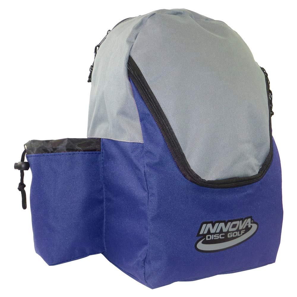 Innova Discover バックパック ディスクゴルフバッグ B07J4XGN2N Blue / Gray Blue / Gray