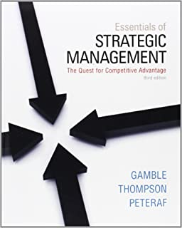 Amazon essentials of strategic management the quest for essentials of strategic management the quest for competitive advantage fandeluxe Gallery
