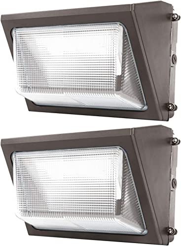 Sunco Lighting 2 Pack 80W LED Wall Pack