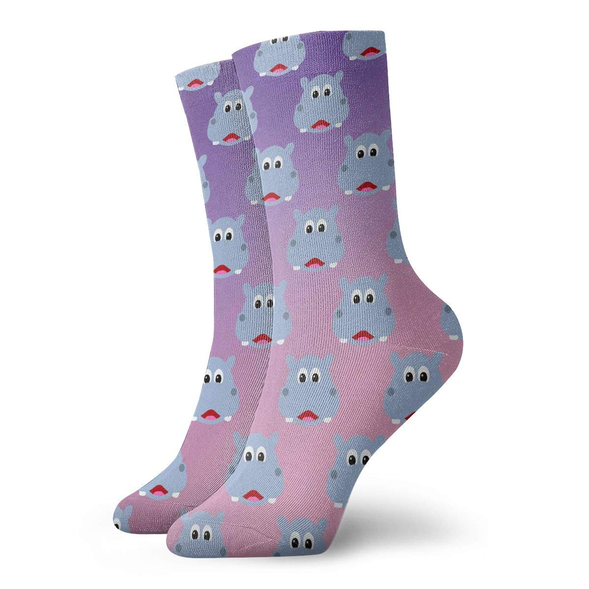 Pattern Red Unisex Funny Casual Crew Socks Athletic Socks For Boys Girls Kids Teenagers