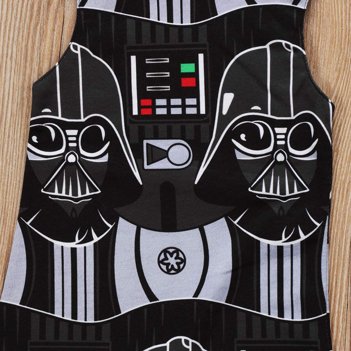 air-SMART Baby Boys Star Wars Sleeveless Romper One-Piece Jumpsuit Clothes