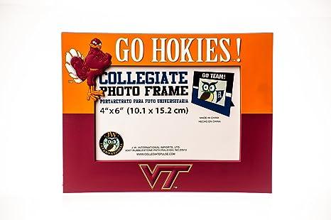 Amazon Collegiate Pulse Virginia Tech Hokies Ncaa Pvc Photo