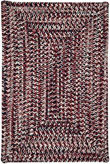 product image for Corsica Rugs, 4' x 6', Patriotic Red/White/Blue