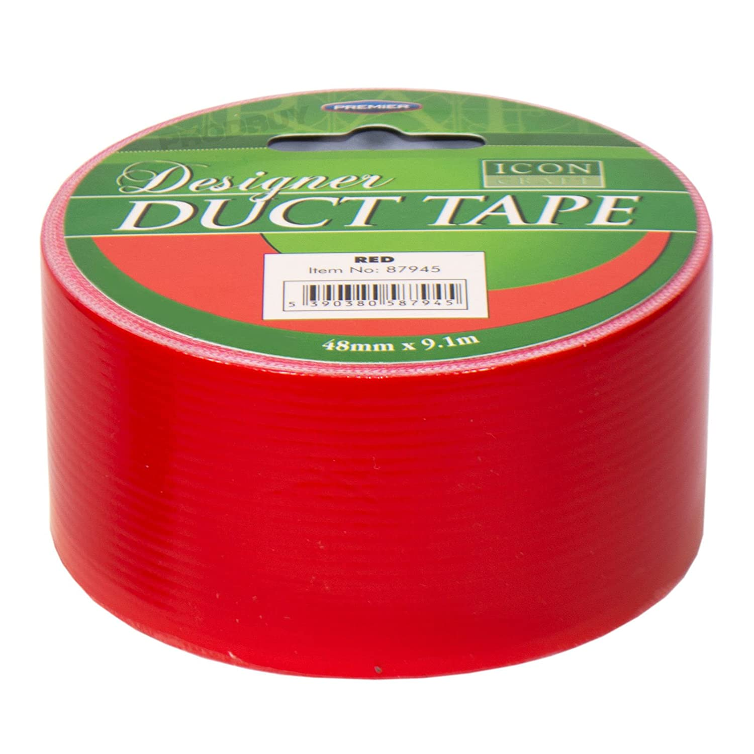 Single Roll of Duct Tape 48mm x 9.1m Bright Colour Duck Gaffa Gaffer Craft Tape (Pink) Prodbuy Limited