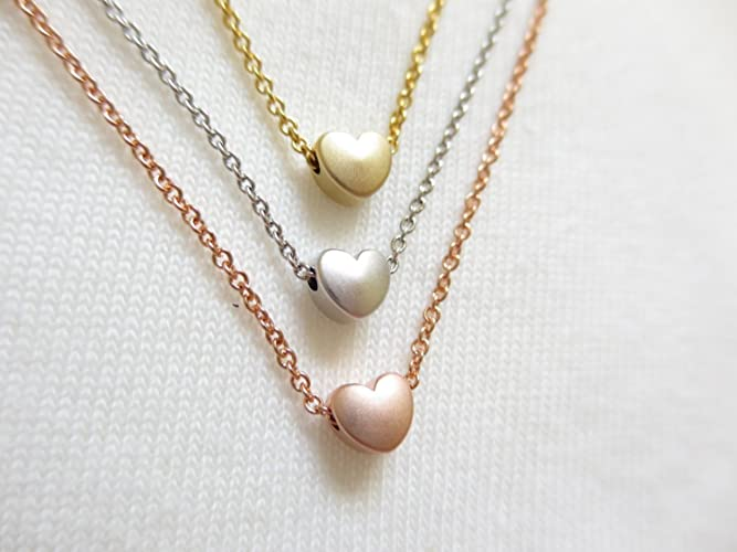 of drop beaded full grace layered rose gold cute products necklace