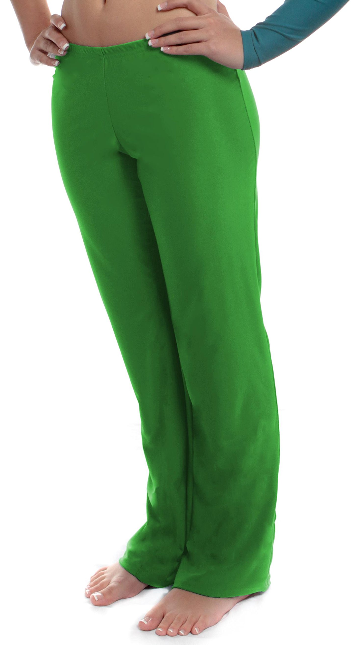 B Dancewear Girls Jazz Pants Large Green Child and Kid Sizes by B Dancewear