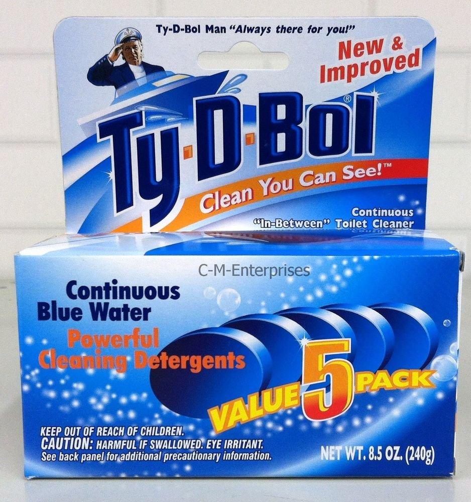 Ty-D-Bol 68000 Tb Cleaner Tank Tabs by Ty-D-Bol