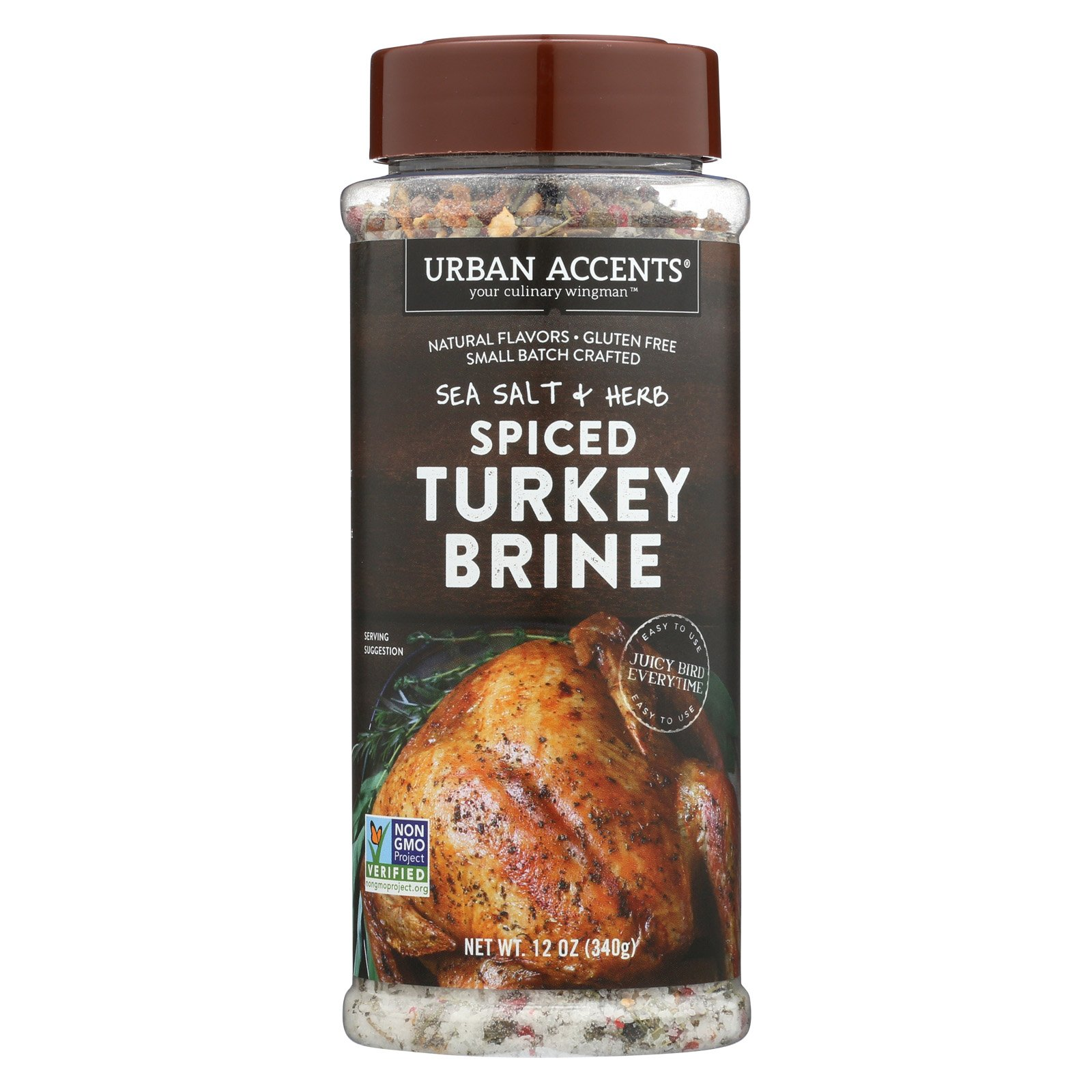Urban Accents Spiced - Turkey Brine - Case of 6 - 12 oz.